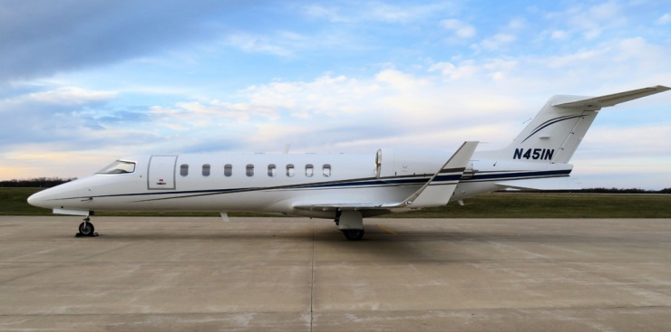Learjet 45 sn 230 - Exterior