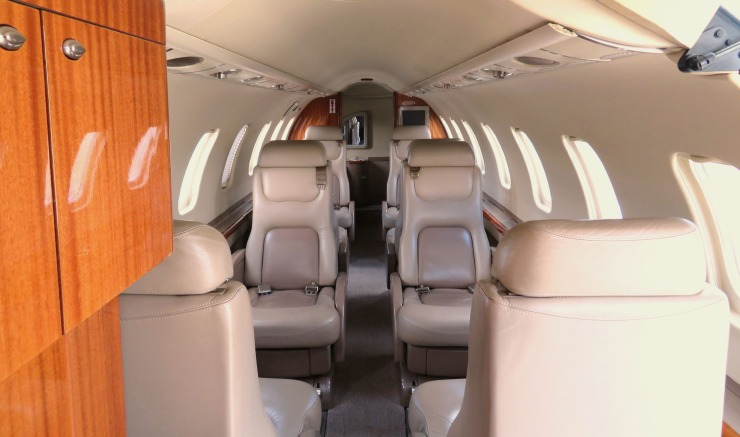 Learjet 45 sn 230 - Interior 1